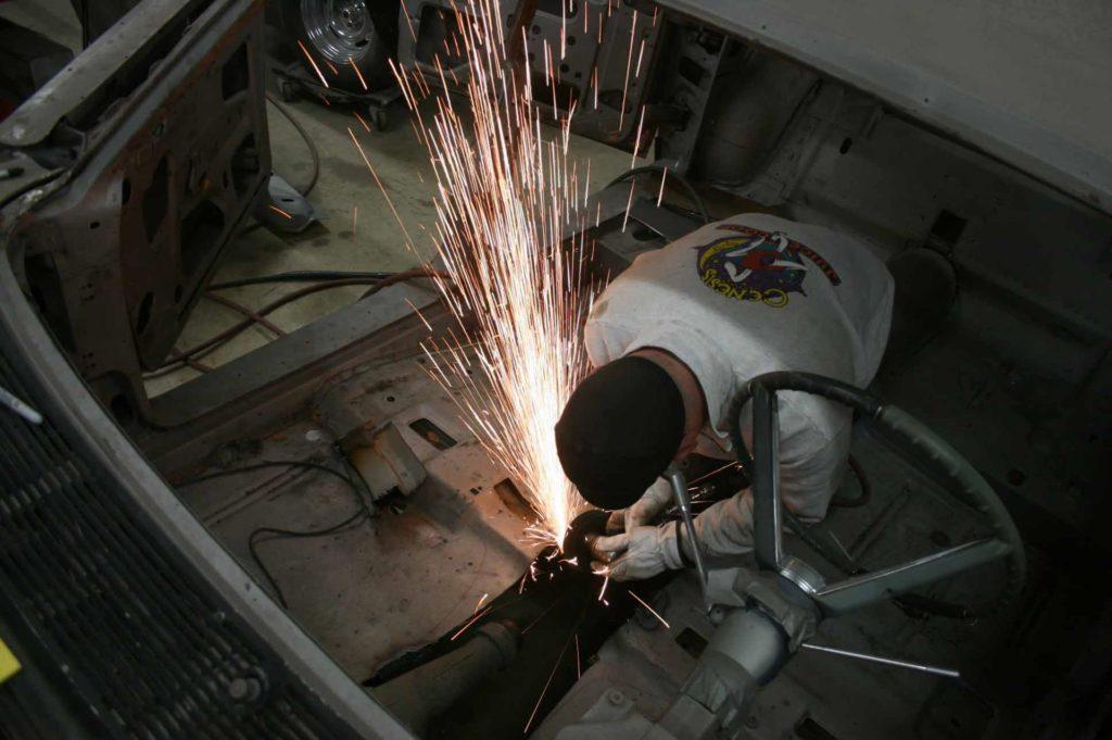 1965 lincoln continental fabrication work metalworks eugene oregon