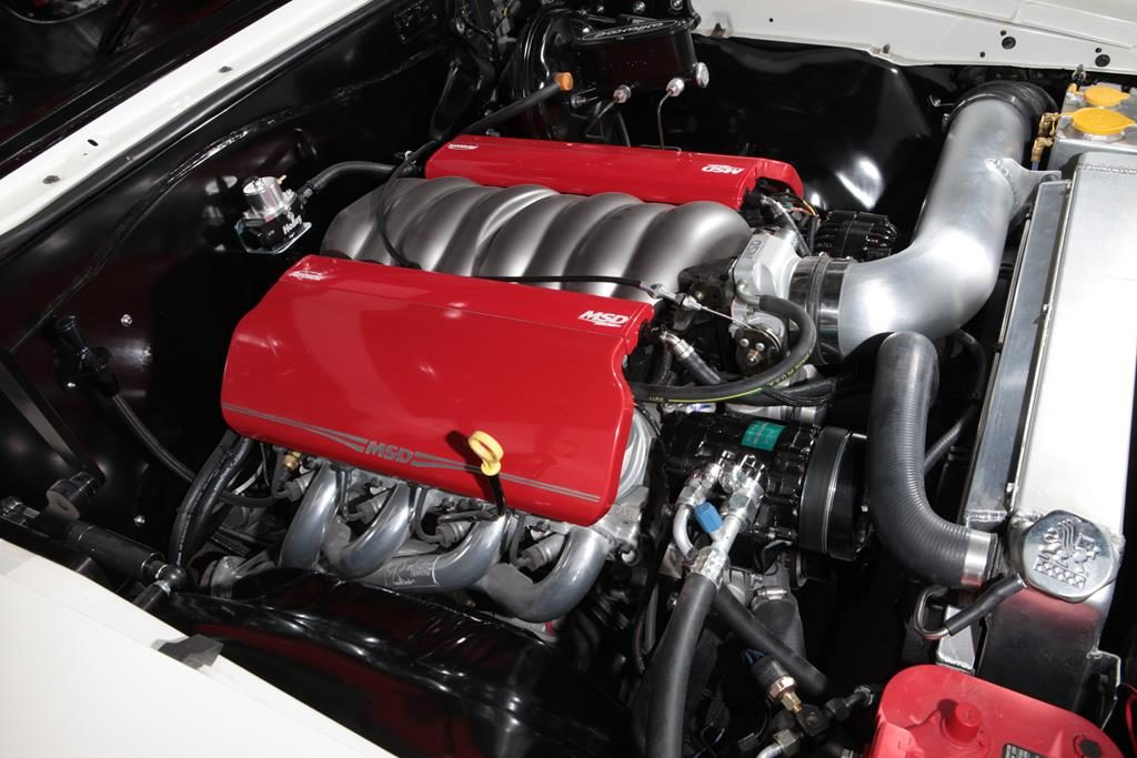 1967 chevy chevelle MSD fuel injected ls3 metalworks