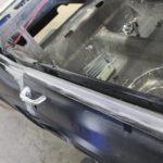 1967 ford mustang door to quarter panel gaps metalworks speedshop oregon