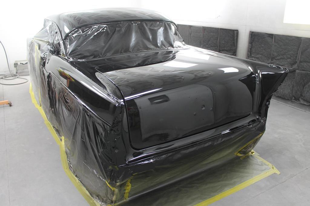 1957 Chevy art morrison fresh paint metalworks oregon