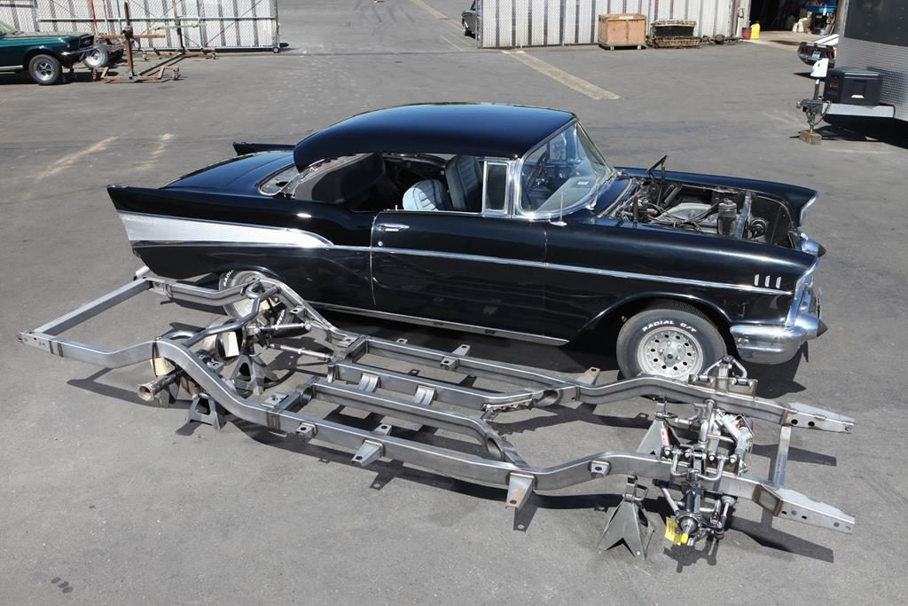 1957 chevy art morrison chassis metalworks eugene oregon