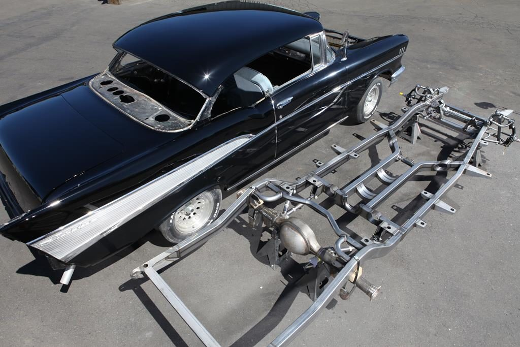art morrison trifive chassis 1957 chevy metalworks oregon