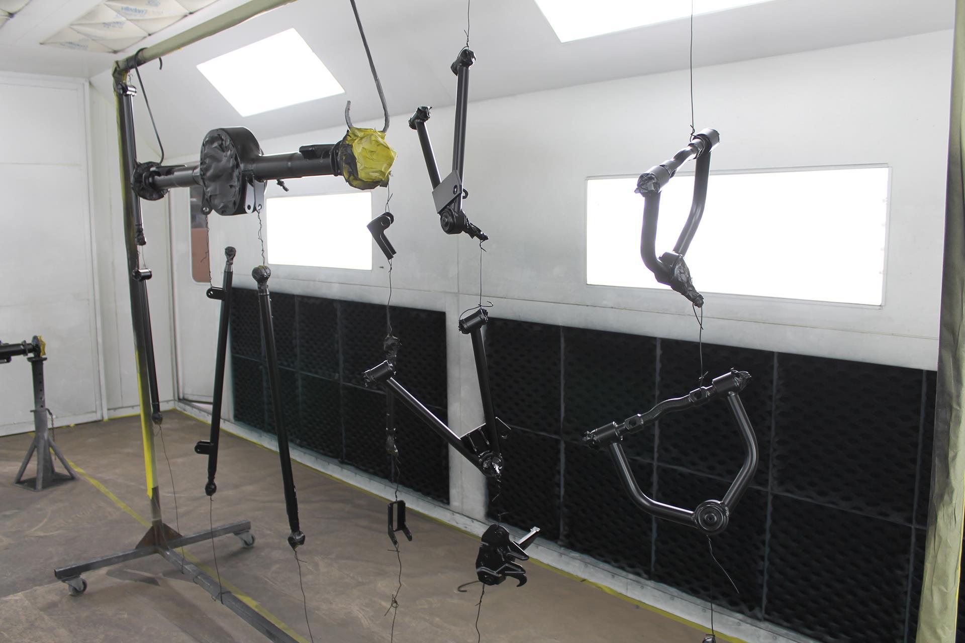 1968 ford torino gt suspension paint raptor metalworks oregon