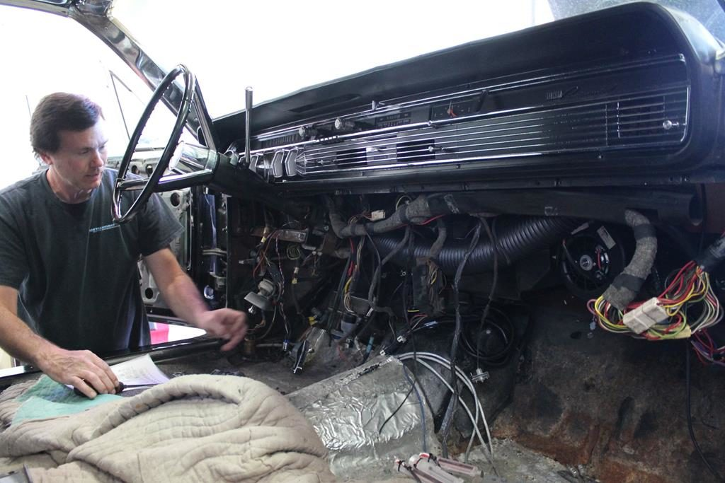 1965 lincoln continental engine swap metalworks oregon