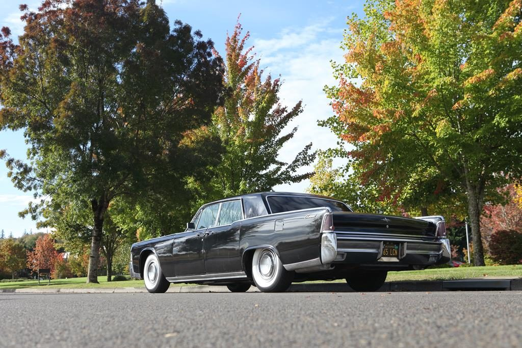 1965 lincoln continental metalworks eugene oregon