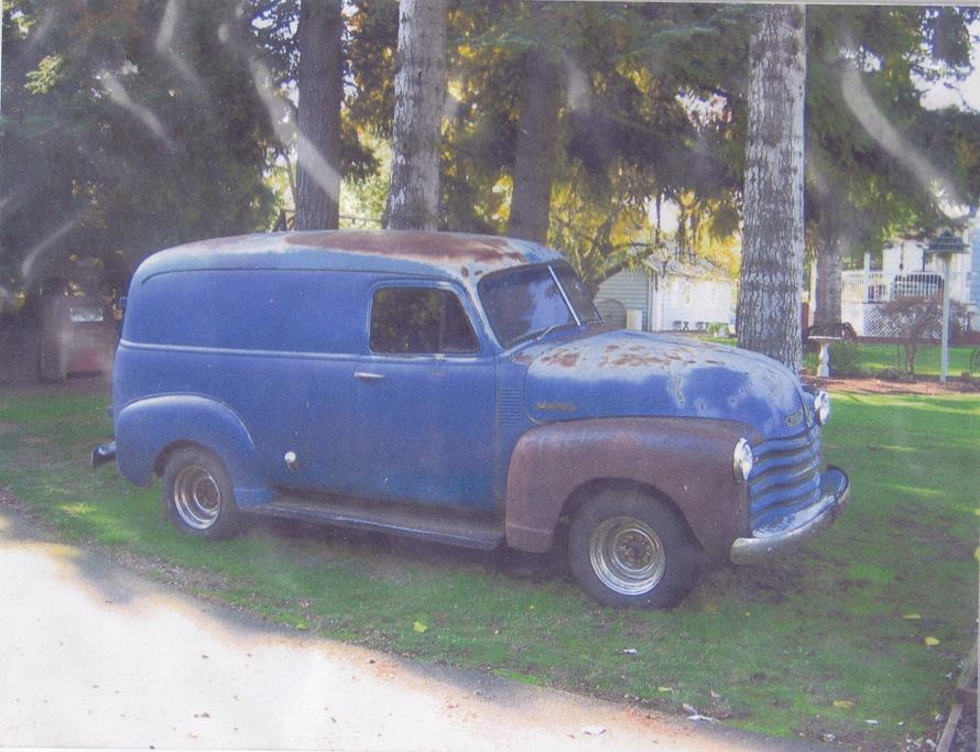 1952 chevy panel restoration metalworks eugene oregon