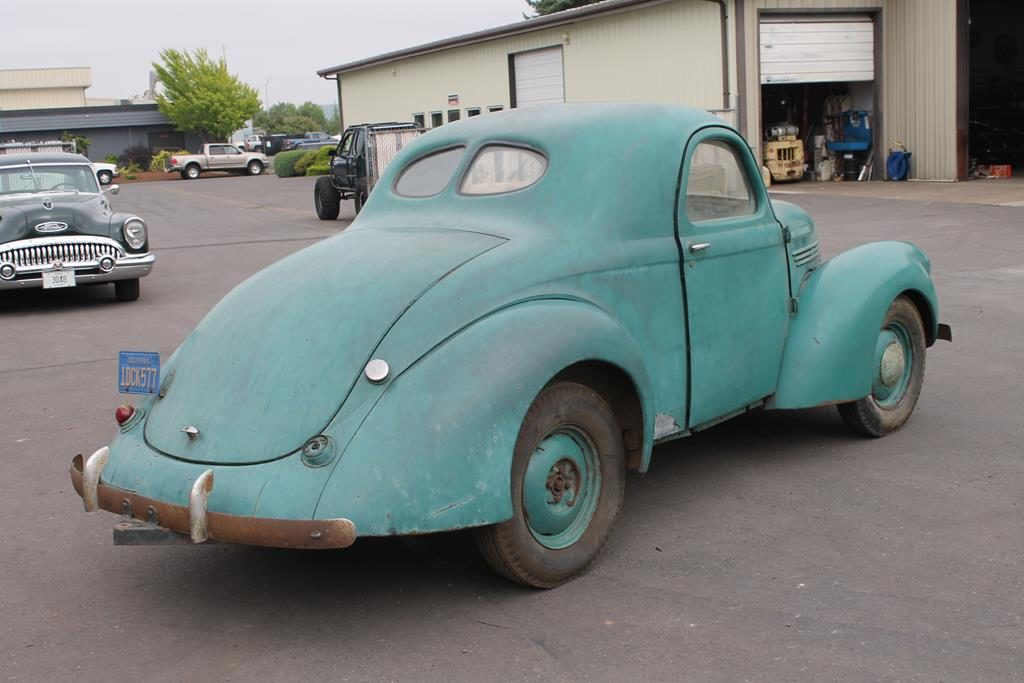 1937 willys coupe restoration metalworks oregon