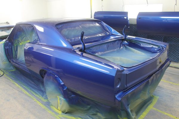 1967 Chevelle Paint Job