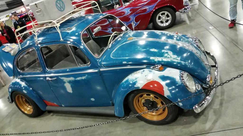 portland roadster show 2017 volkswagen vw beetle bug metalworks