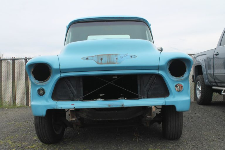 Chevy Work Truck >> 1955 Chevy Truck – MetalWorks Classic Auto Restoration