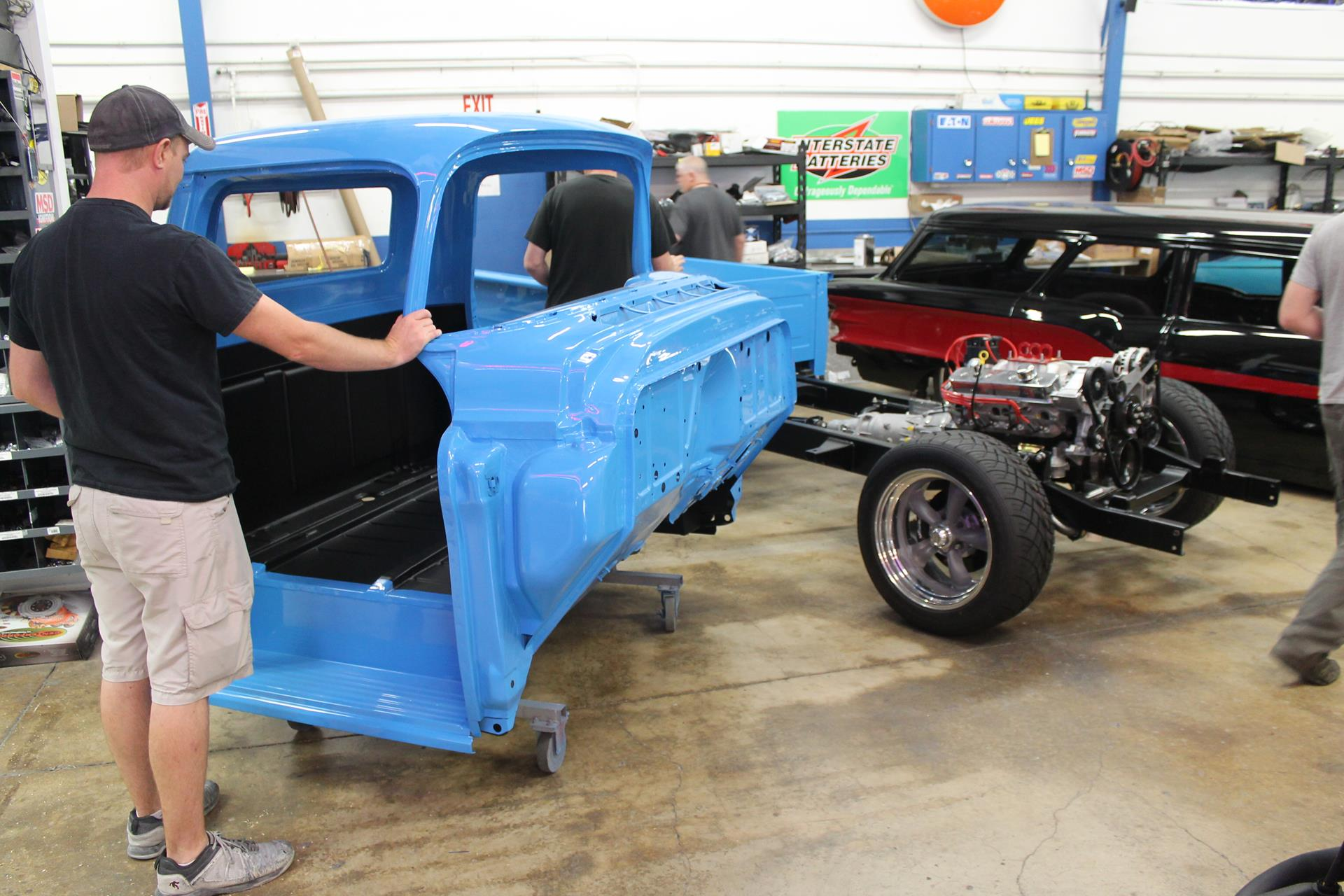 1955 Chevy Truck Metalworks Classic Auto Restoration