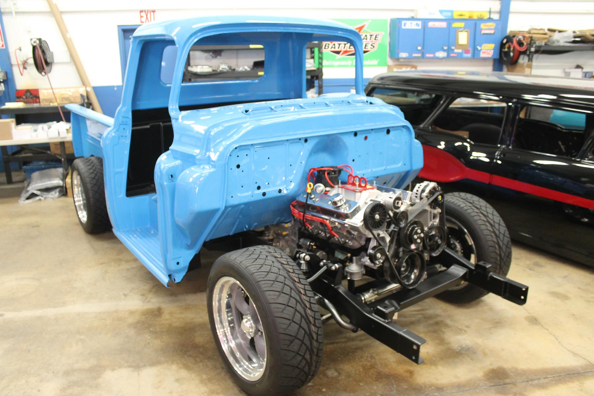 1955 chevy truck restoration