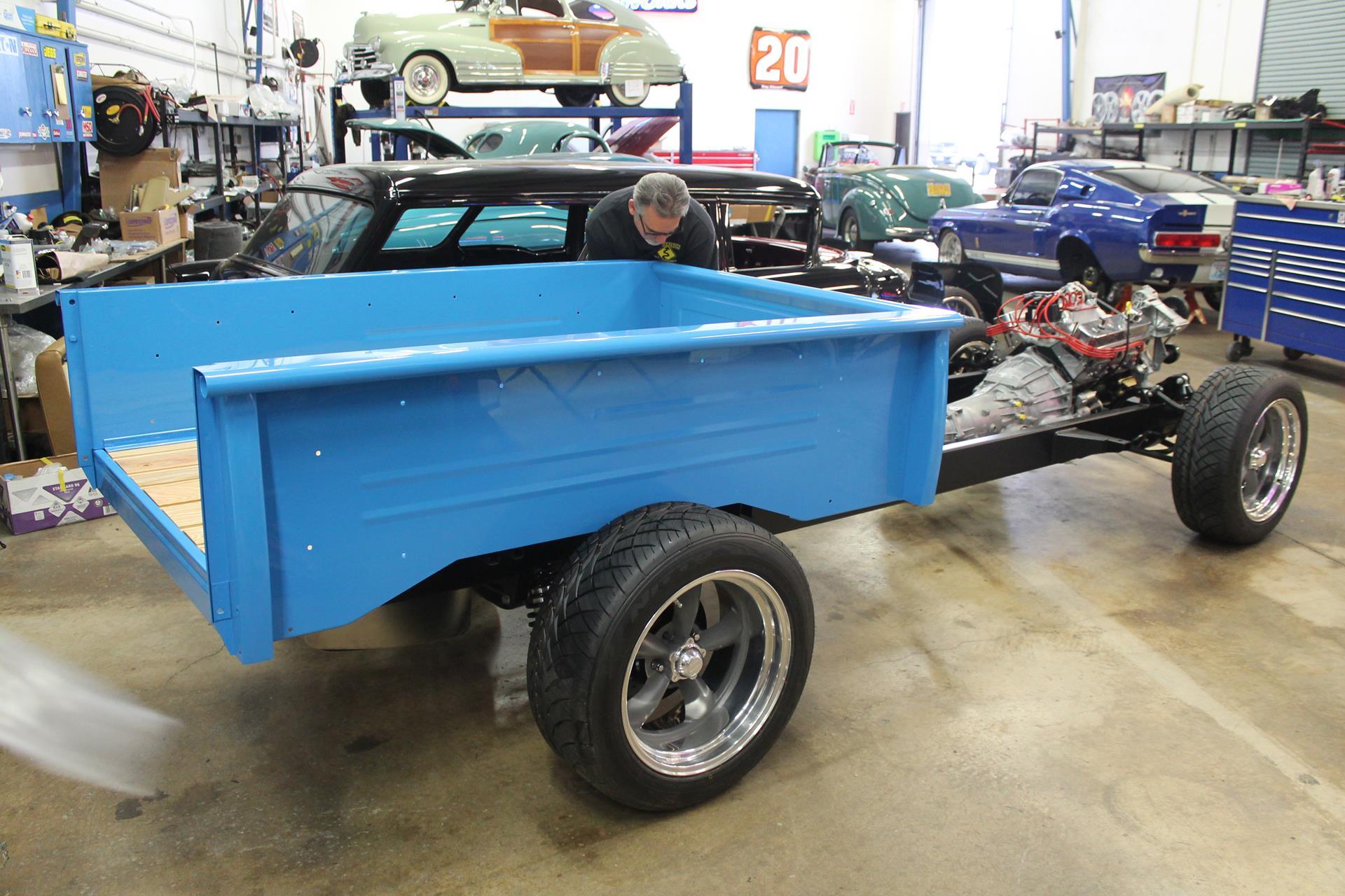 1955 Chevy Truck Metalworks Classic Auto Restoration