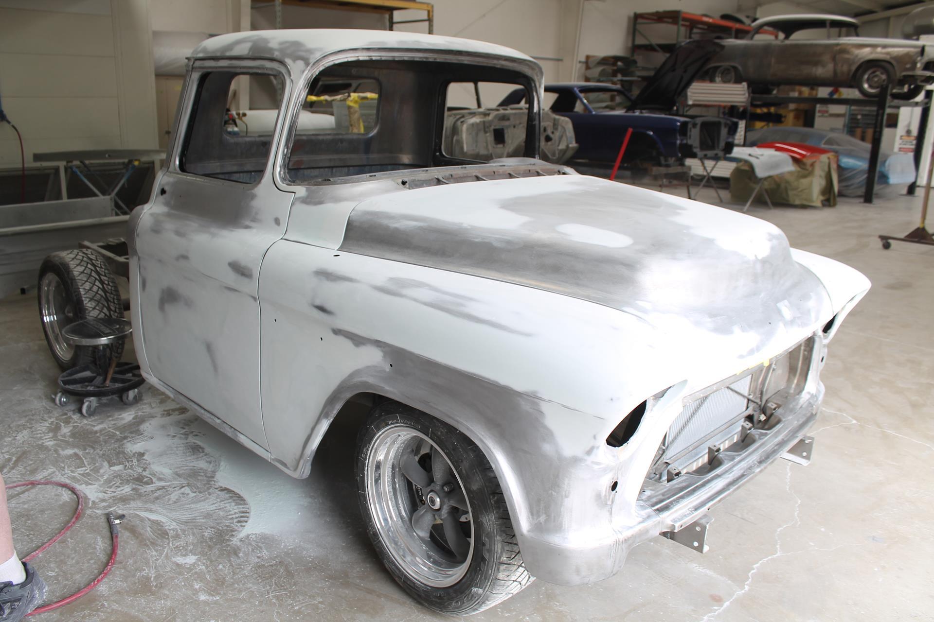1955 Chevy truck - MetalWorks Classics Auto Restoration & Speed Shop