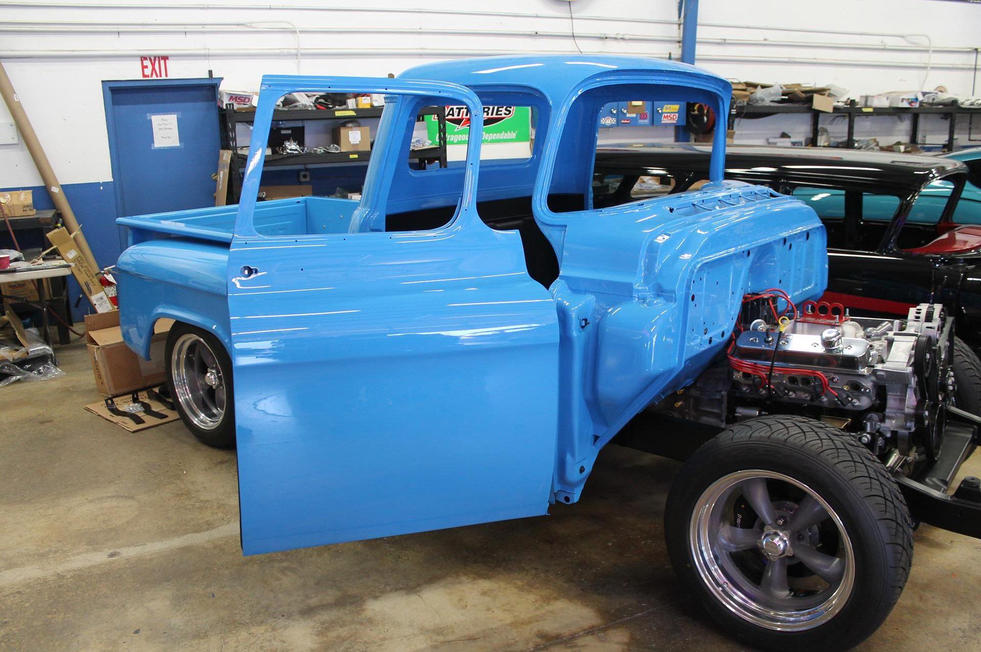 1955 Chevy Truck Metalworks Classics Auto Restoration