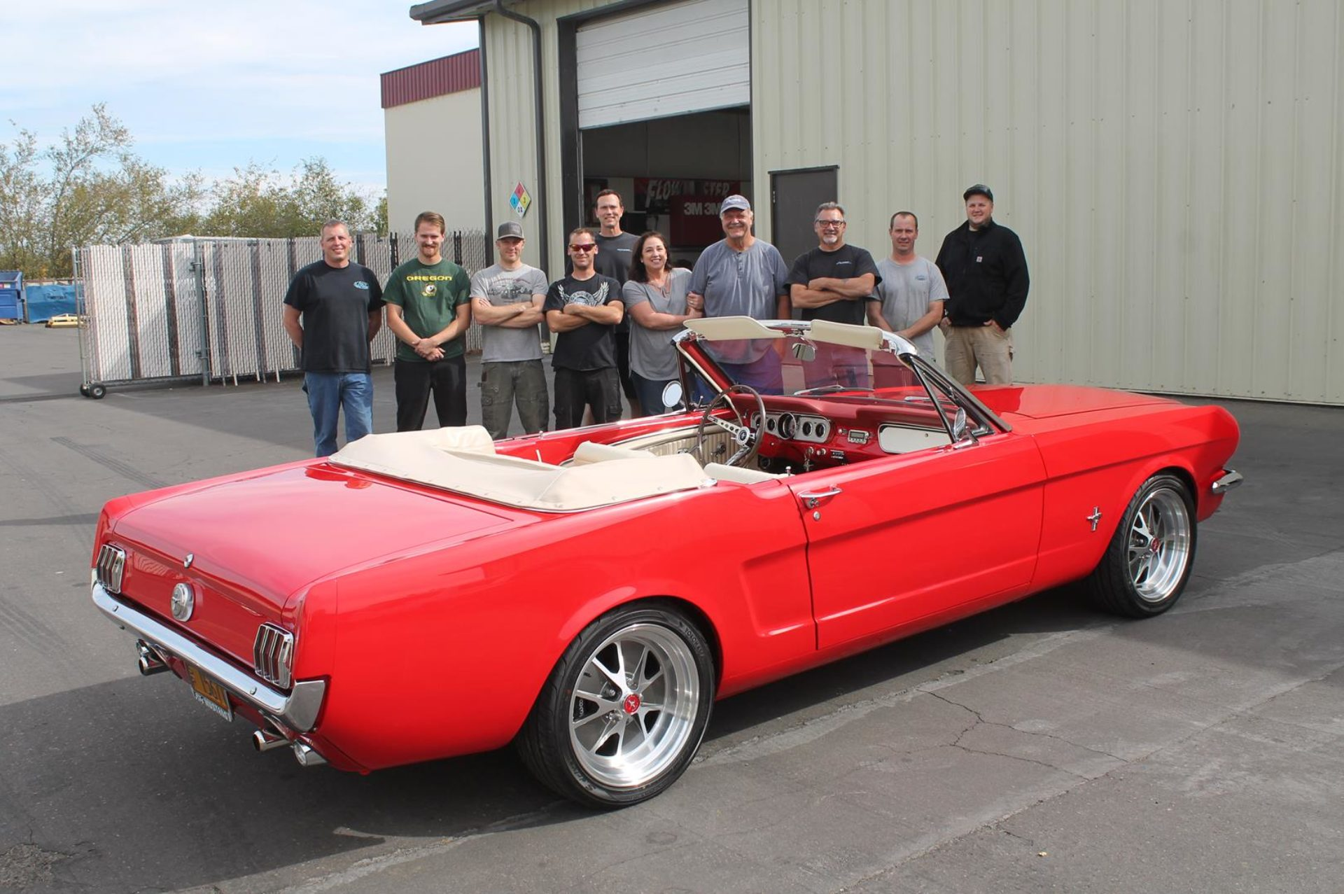 1965 Red Mustang Metalworks Classics Auto Restoration Speed Shop Metalworks Classic Auto Restoration Speed Shop