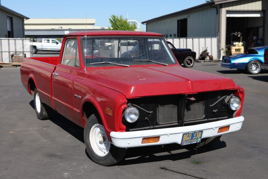 1972 chevy truck c10 restoration metalworks
