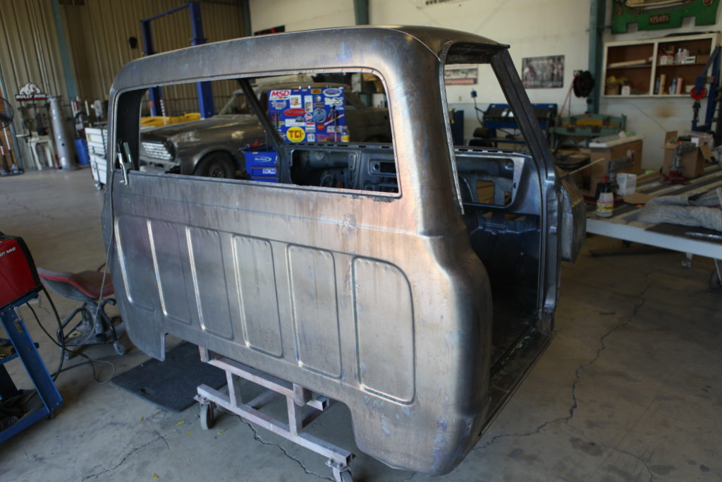1972 chevy truck restoration acid dip bare metal metalworks oregon