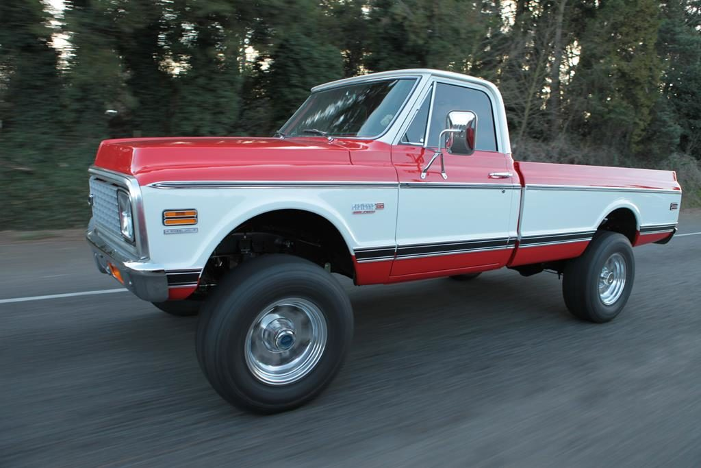 1972 chevy truck supercharged LSA 4x4 custom metalworks eugene oregon