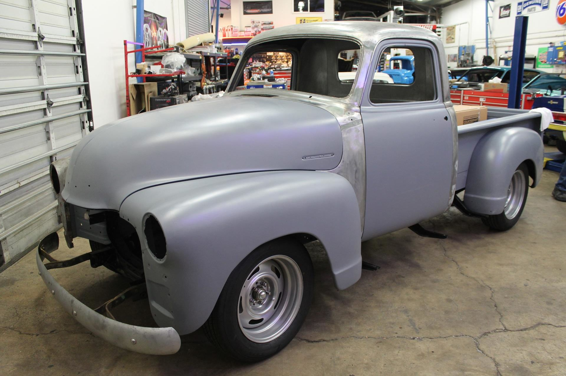 chevy truck restoration near me