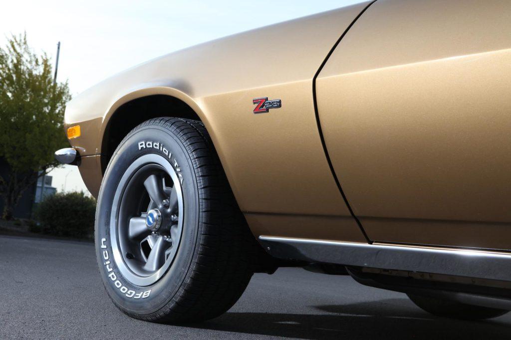 MetalWorks Classic Auto and Speed Shop 1970 Camaro Z28 stock restoration
