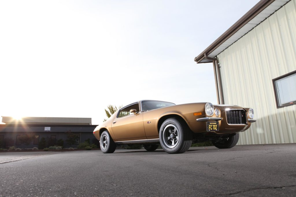 MetalWorks Classic Auto and Speed Shop 1970 Camaro Z28 stock