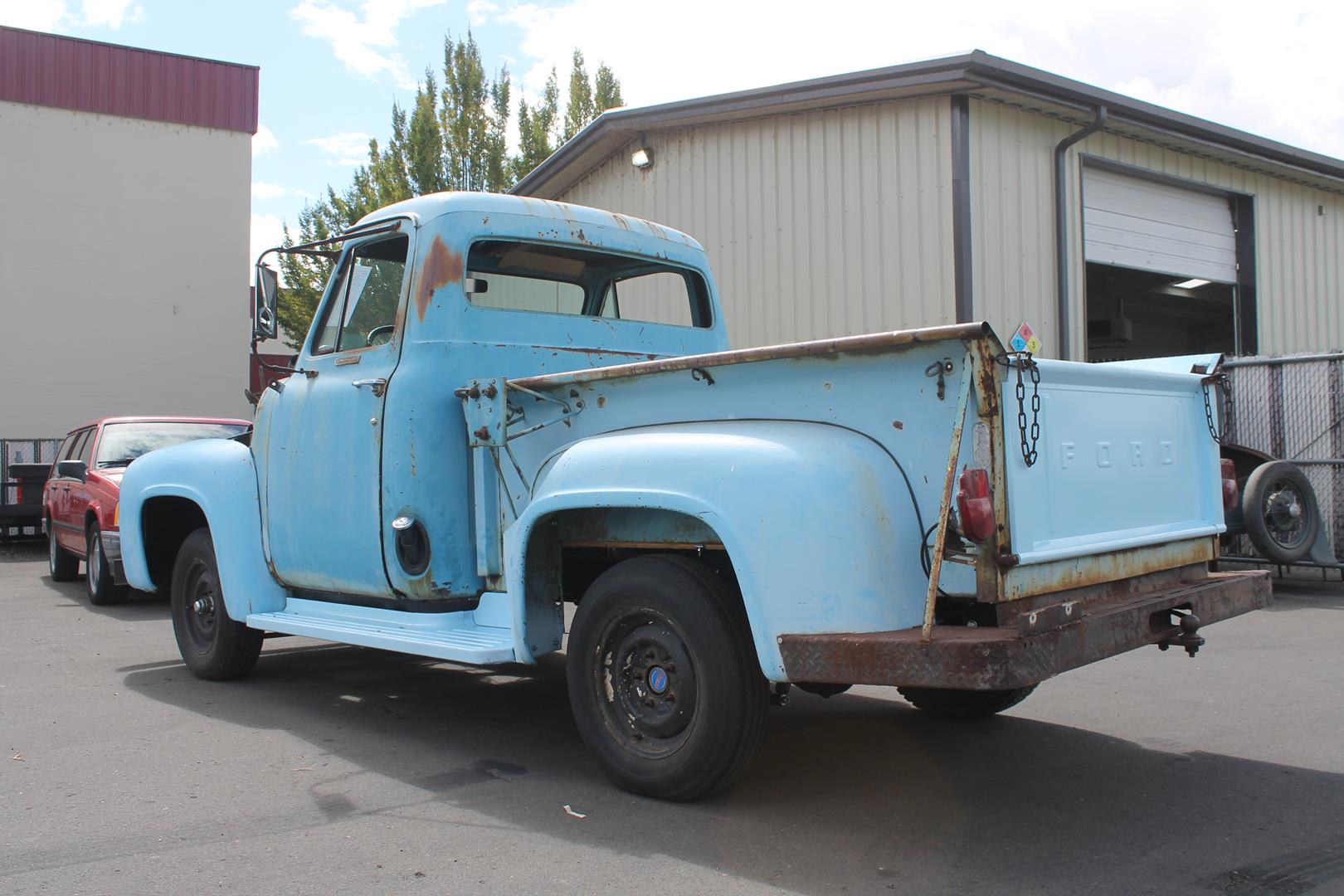 1955 Ford F100 Metalworks Classics Auto Restoration Speed Shop Project Engine Accessories