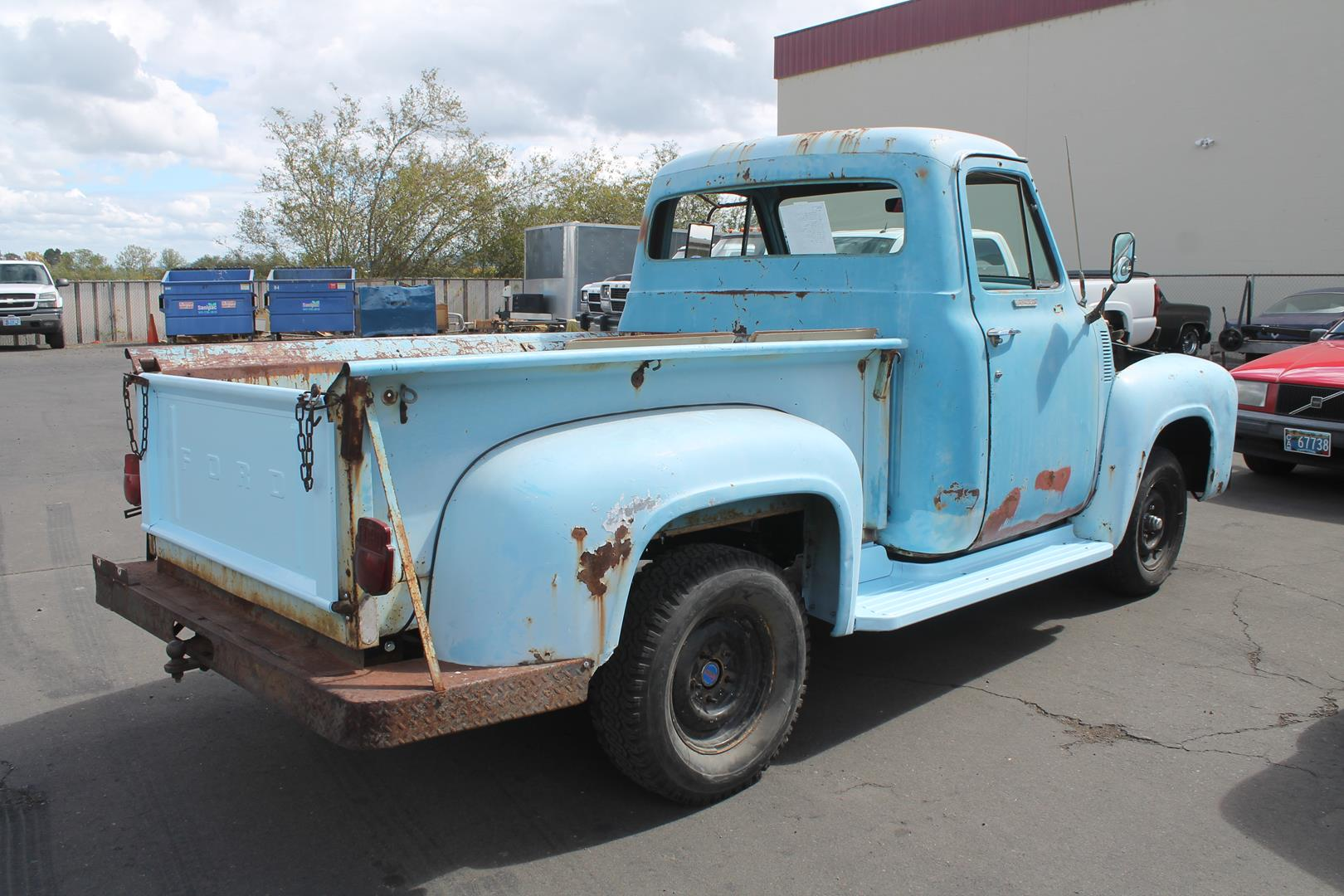 1955 Ford F100 Metalworks Classics Auto Restoration Speed Shop Suspension Engine Accessories