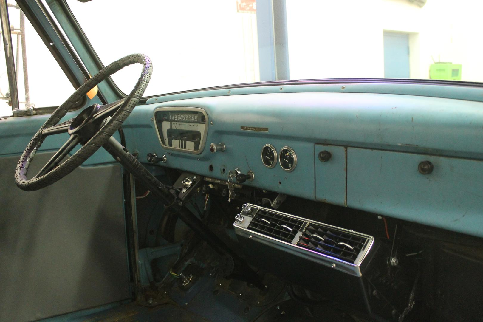 1955 Ford F100 Metalworks Classics Auto Restoration Speed Shop Truck Steering Wheels Misc Assembly