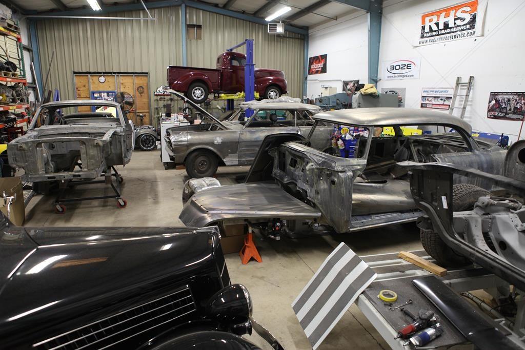 metalworks fabrication shop custom cars metalworks oregon