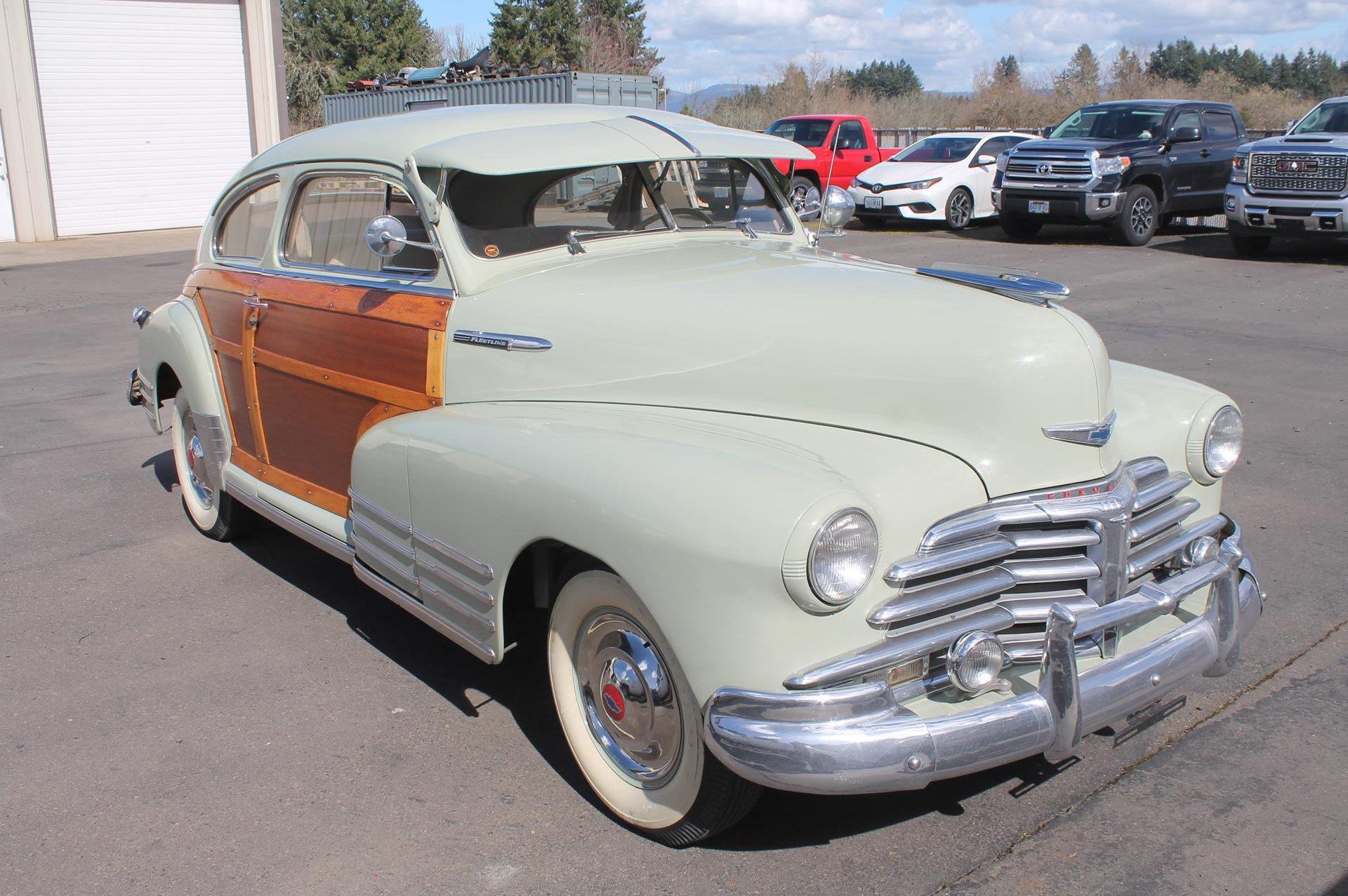 1948 Fleetline - MetalWorks Classic Auto Restoration & Speed