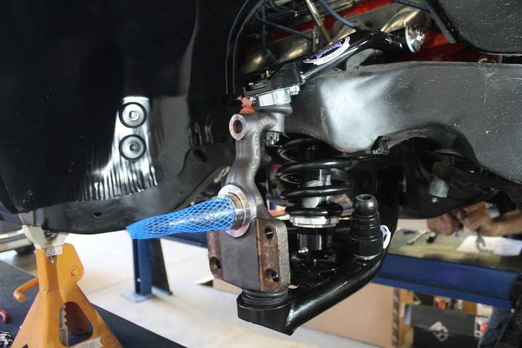 1968 chevy chevelle detroit speed suspension install metalworks speed shop oregon