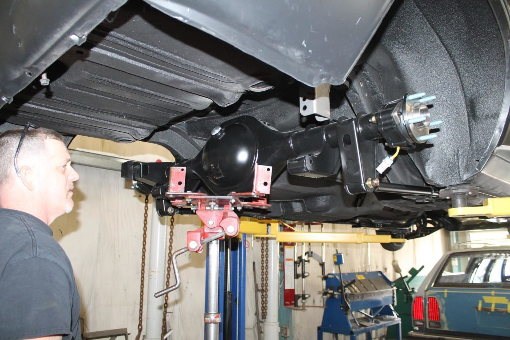1968 chevy camaro detroit speed 4 link install metalworks oregon