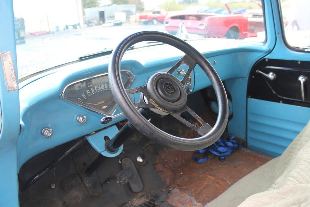1955 chevy truck art morrison metalworks speedshop eugene oregon