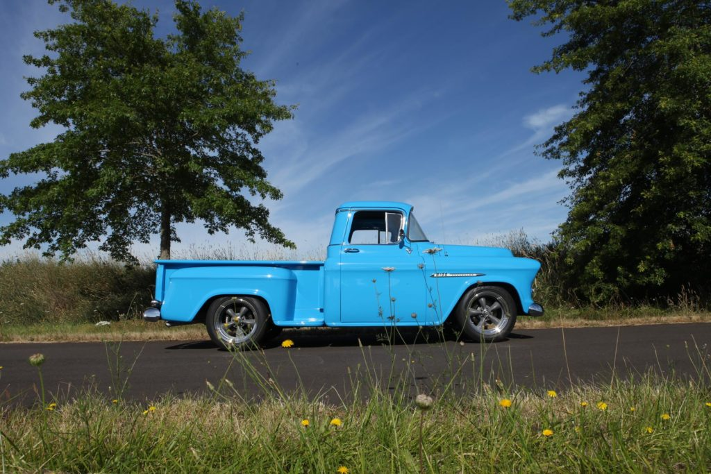 In summary, the 1955 Chevy 3100 came out exactly the way I wanted it and will be something that I will keep the rest of my life. I found the staff at MetalWorks very knowledgeable, friendly, and very easy to work with on my project. I definitely plan on sending another project their way.
