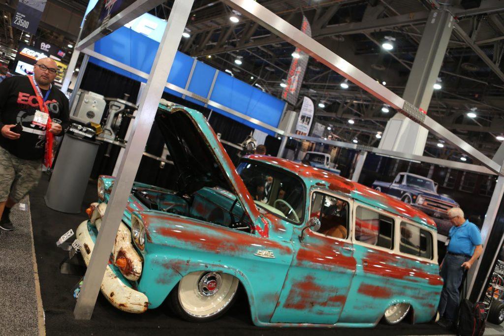 trucks of sema 2018 metalworks speedshop