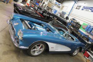 1959 chevy protouring corvette arrival metalworks speedshop oregon
