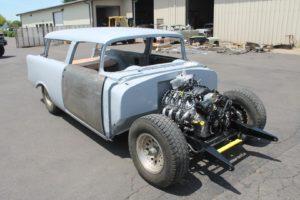 1956 chevy nomad restomod arrival metalworks speedshop oregon