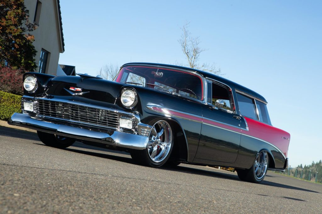 1956 chevy nomad restoration protouring metalworks speedshop eugene oregon
