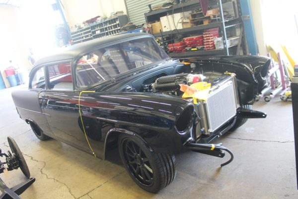 ProTouring 1955 Chevy Post Car
