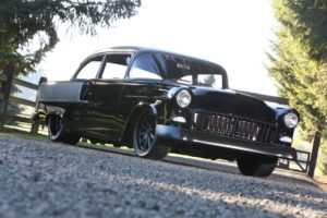 1955 chevy wise post car finished photos metalworks speedshop oregon