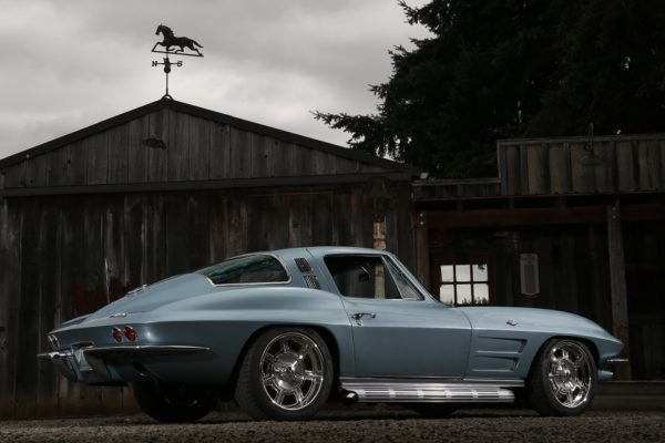 1964 Corvette Body Swap to Art Morrison Chassis