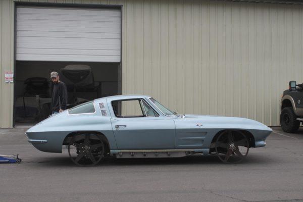 1964 Corvette Body Swap to Art Morrison Chassis