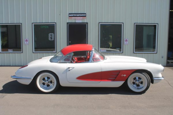 1960 Corvette Body Swap