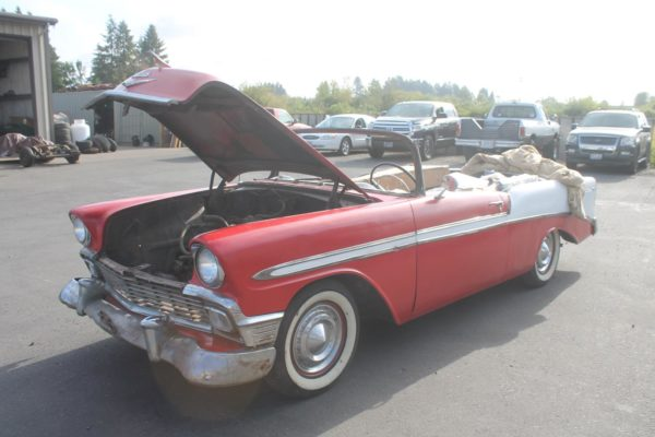 1956 Chevy Convertible Real Steel Body