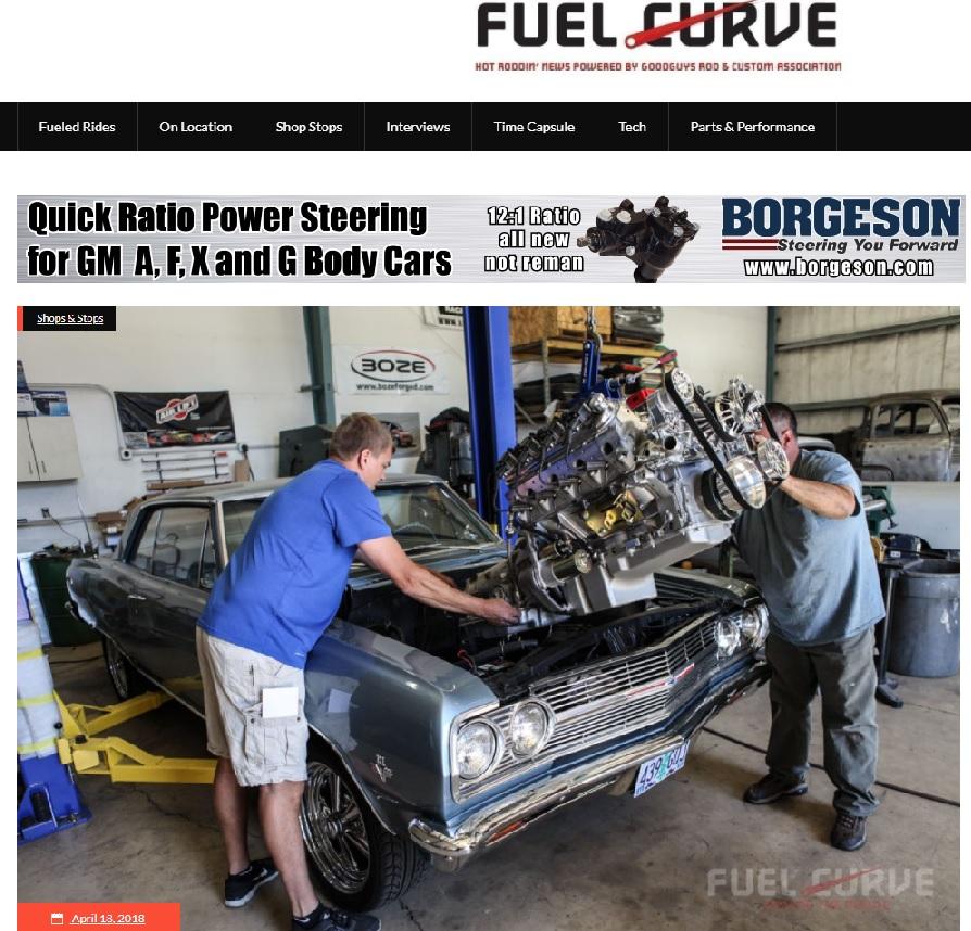 fuelcurve.com metalworks shop feature