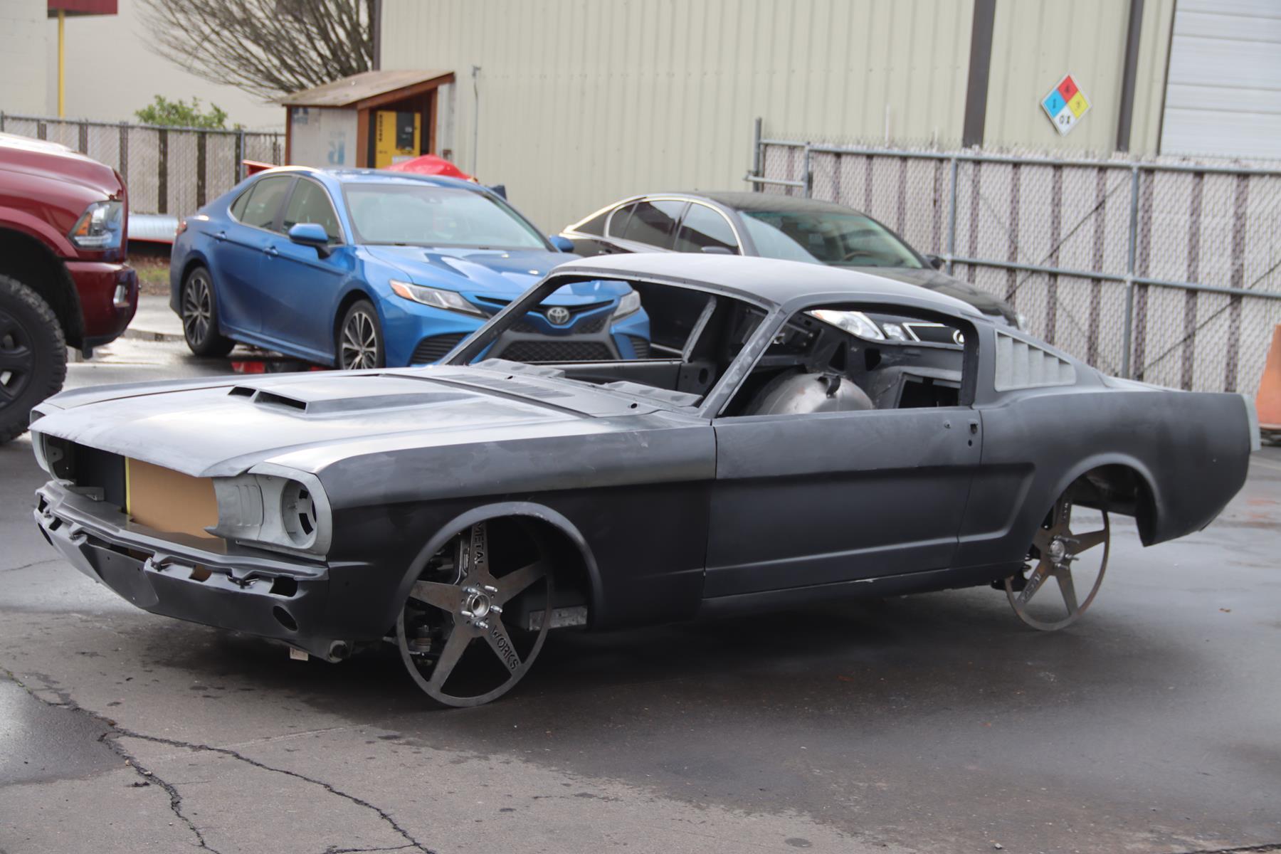 1966 ford mustang fastback for sale metalworks speedshop oregon